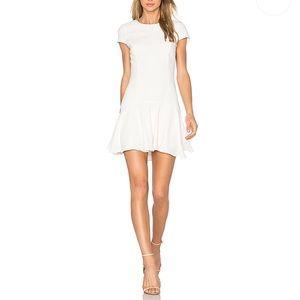 "Amanda Uprichard | Revolve ""Hudson"" Ivory Dress"
